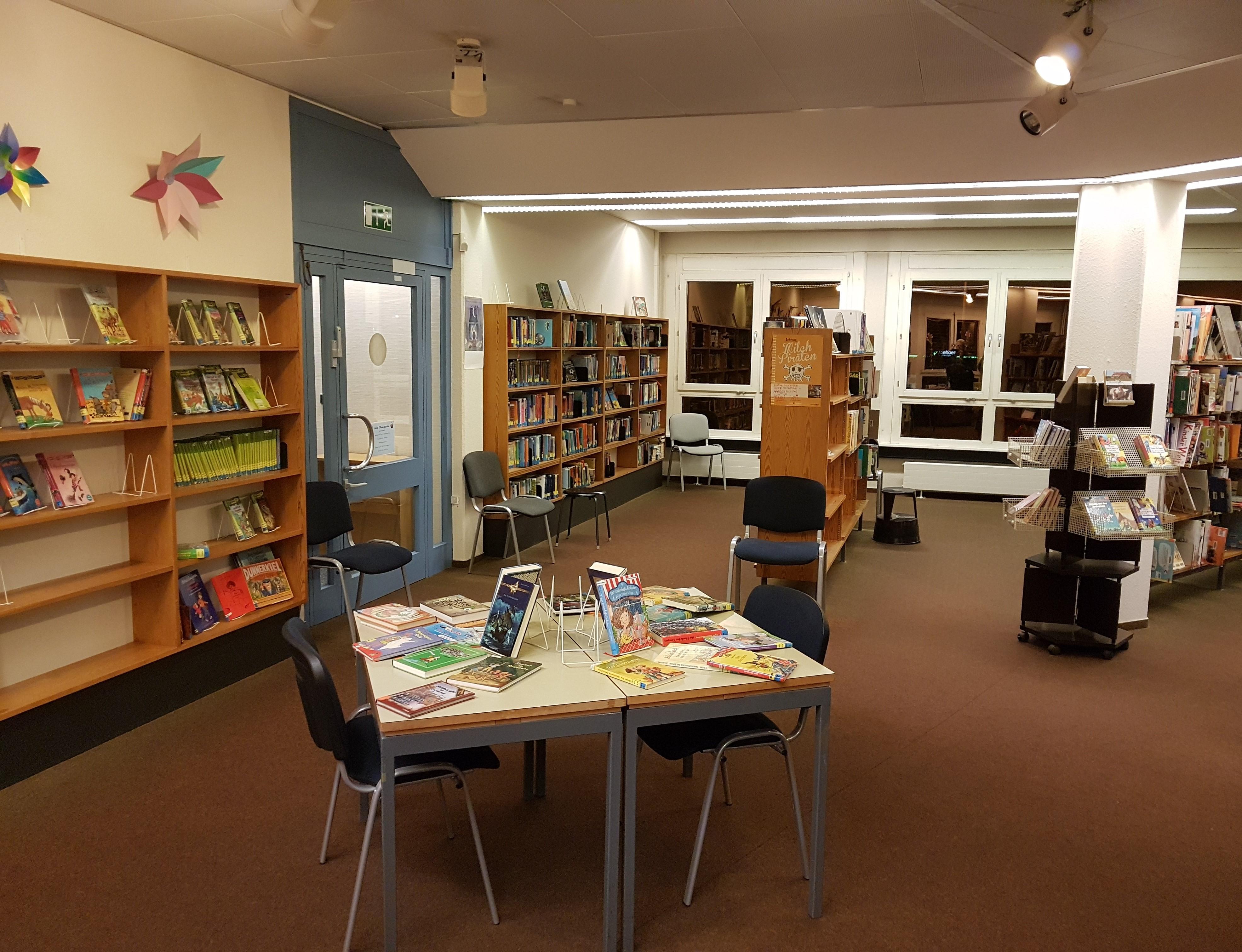Wahlstedts Bücherei im desolatem Zustand