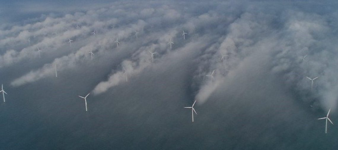 Windkraftanlagen im Sichtbereich von Wahlstedt (Fehrenbötel)