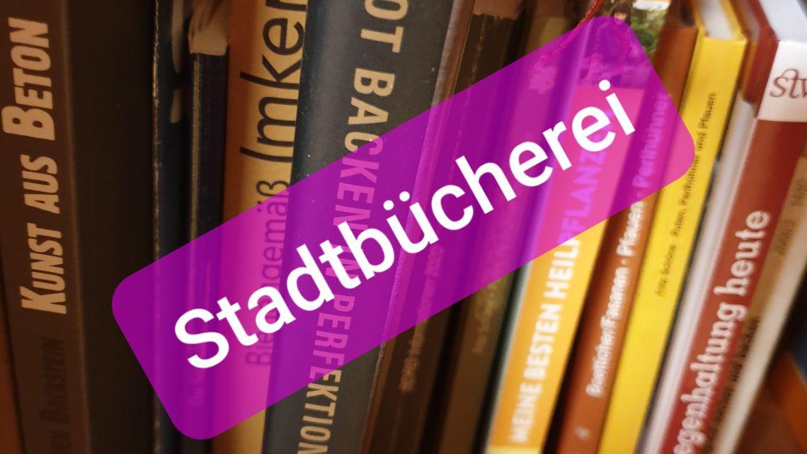 ENDLICH …..Stadtbücherei Wahlstedt